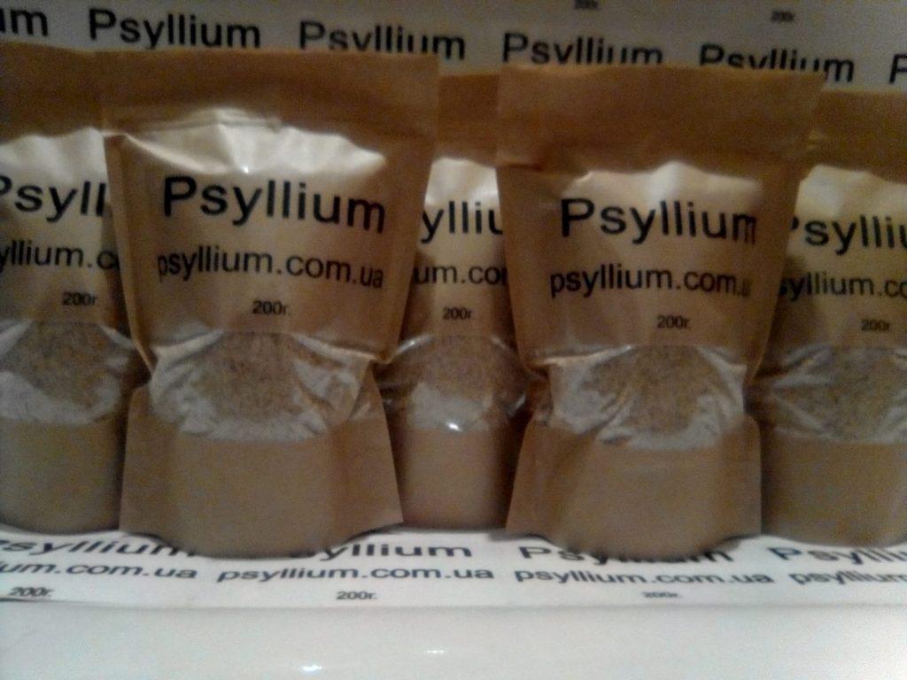 Псиллиум. Шелуха семян подорожника